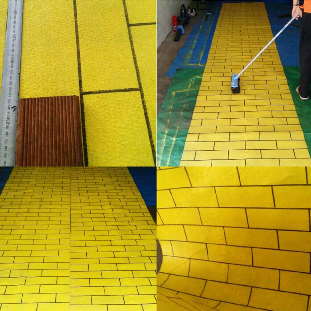, Party DIY: Follow the yellow brick road