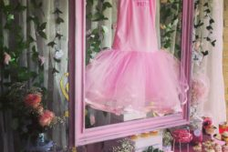 Ballerina outfit decoration