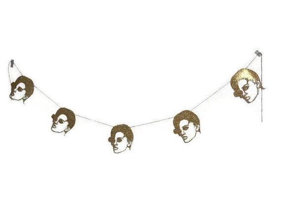 Rihanna themed party garland