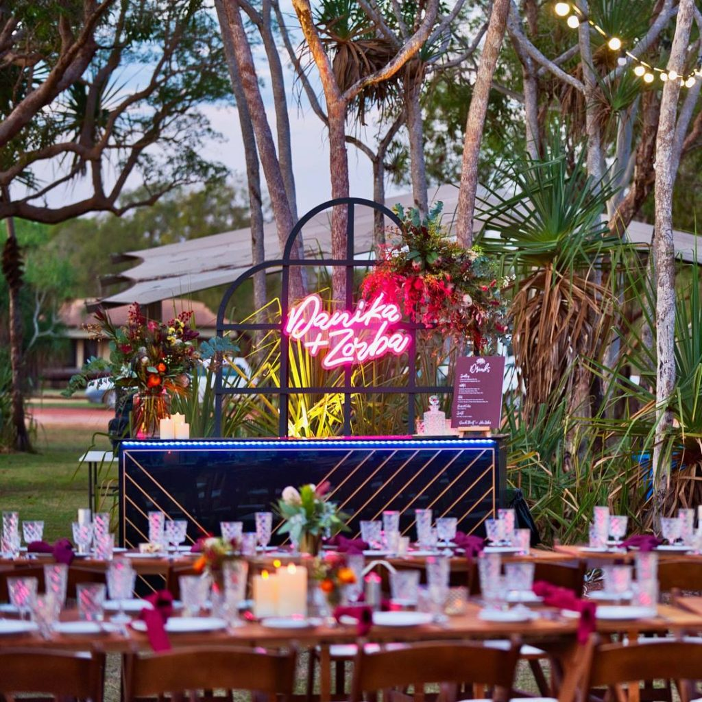 , An Outback Luxe Wedding in the Top End