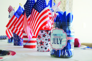 Fourth of July Dinner Party