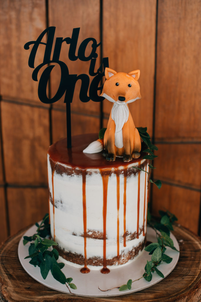 Arlo's Fox & Woodland themed 1st birthday
