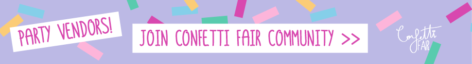 Join the Confetti Fair Community