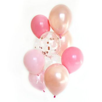 Favour Lane Rose Gold Balloon Bouquet