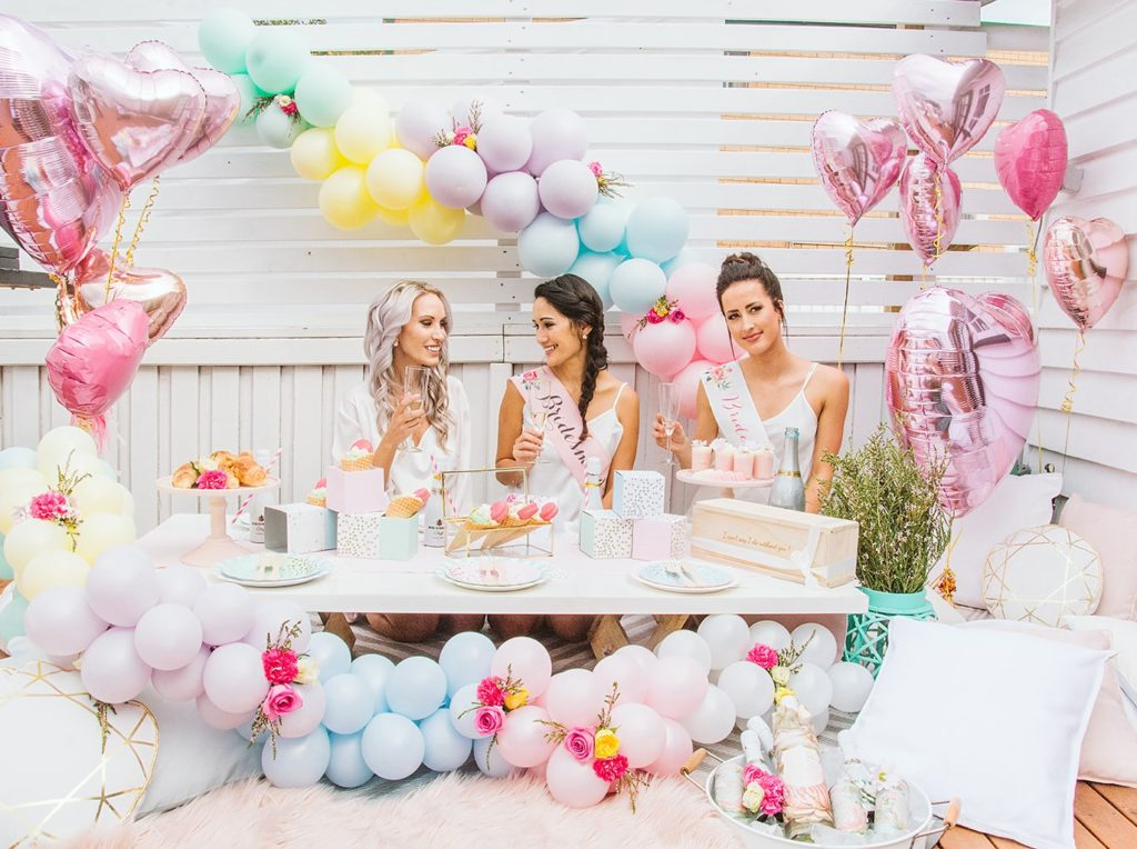 pastel bridal shower, Best friends, bubbly, and brunch: a pastel bridal shower