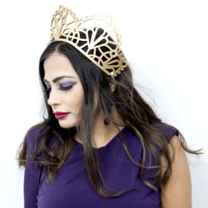 Headpieces, party crowns and tiaras by DeMillinery