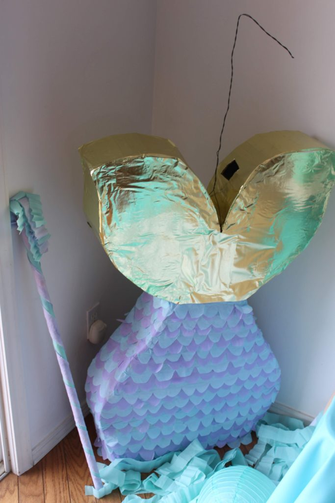 mermaid themed birthday party, A mermaid themed birthday party