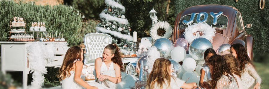 Christmas party, Santa, baby! A Christmas party picnic by Stylish Soirees Perth