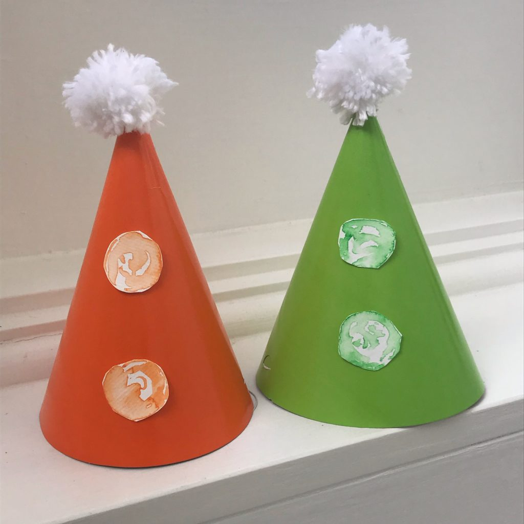 DIY party hats, Party DIY: 3 ways to create DIY party hats plus FREE download!