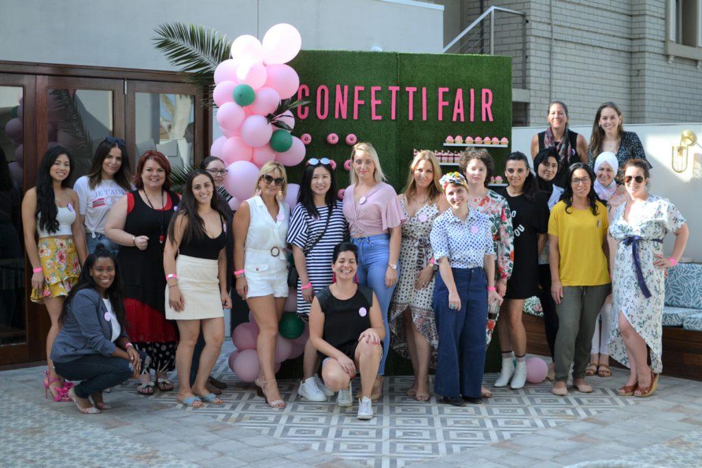 Tropical party theme, Tropical party theme for a Confetti Fair meet and greet