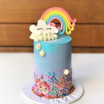 Rainbow cake by Sweet CakeArt