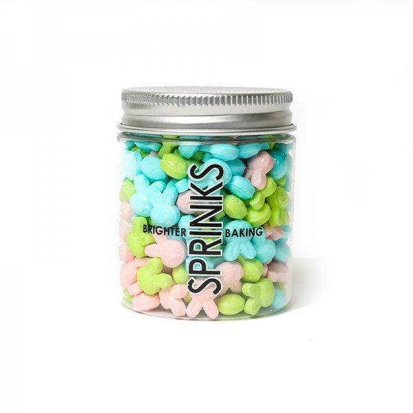 Pastel Easter Bunny Sprinkles from Lovely Occasions