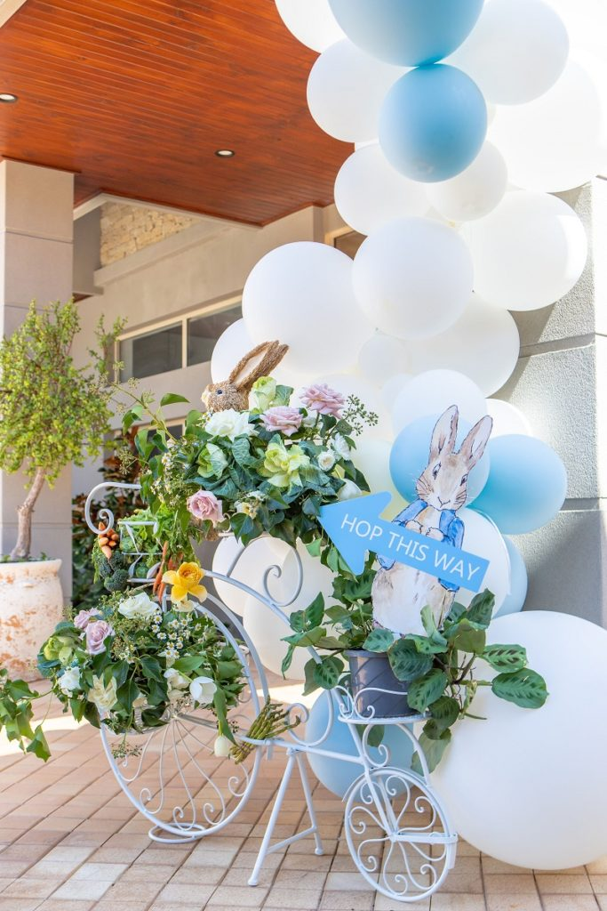 , A Peter Rabbit baby shower