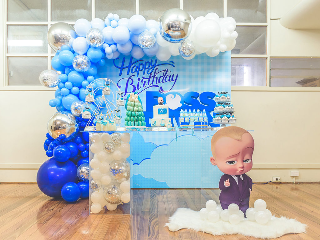 Boss Baby birthday party, A totally cute Boss Baby birthday party