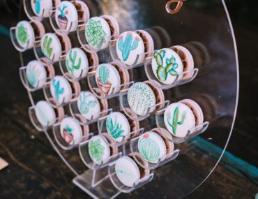 cactus bridal shower, Arizona inspired cactus bridal shower