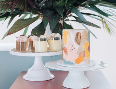 Palm Springs bridal shower, Mid-century inspired Palm Springs bridal shower