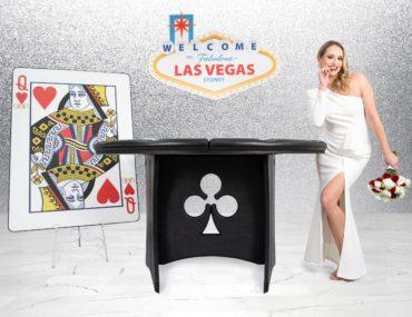 , Viva Las Vegas wedding party