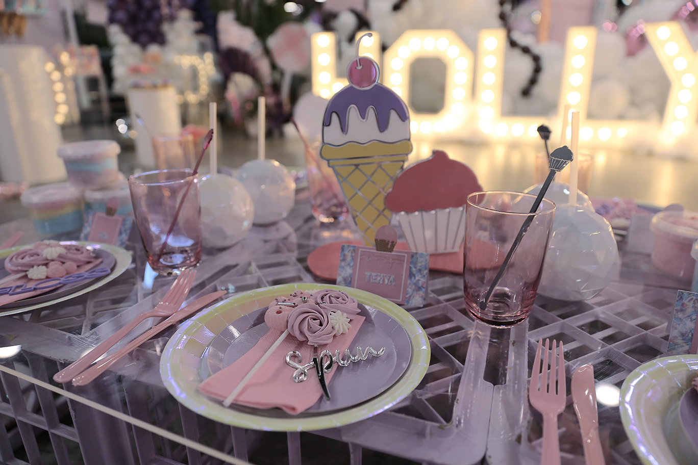 , A California inspired pink candy land party