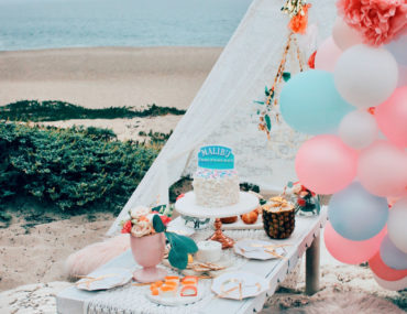 , A Malibu inspired beachy boho brunch