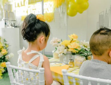 , A bright New York inspired kids party