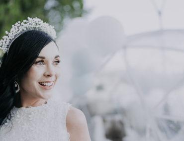 , Alaskan inspired winter wonderland bridal shower