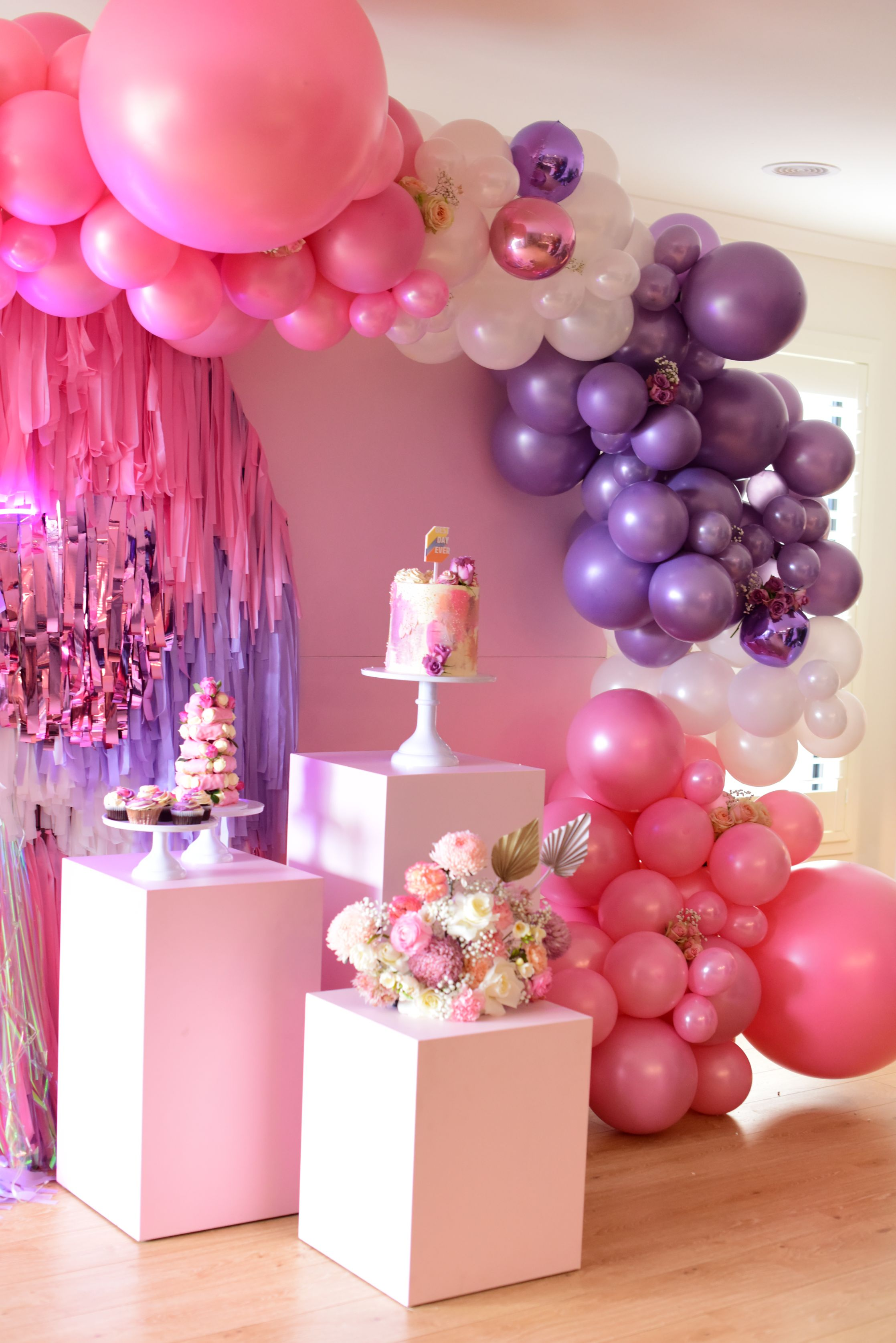 , Hey, baby – a pink and lilac on-trend baby shower