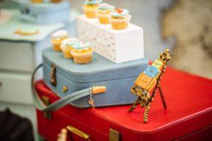 vintage travel party, Vintage travel party – Ayaana'sAround the World 1st birthday