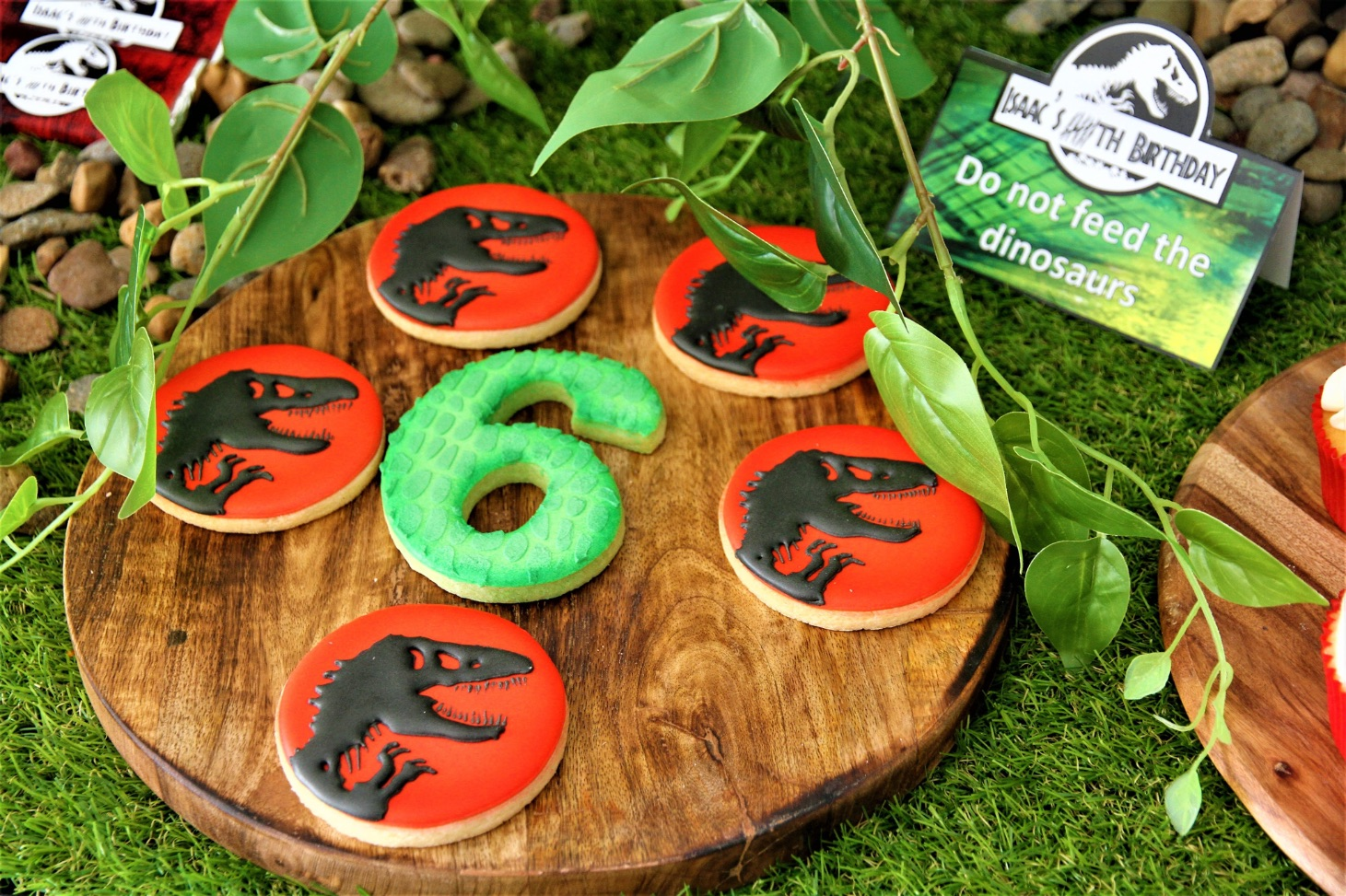 Jurassic Park inspired dinosaur party, Isaac's Jurassic Park inspired dinosaur party
