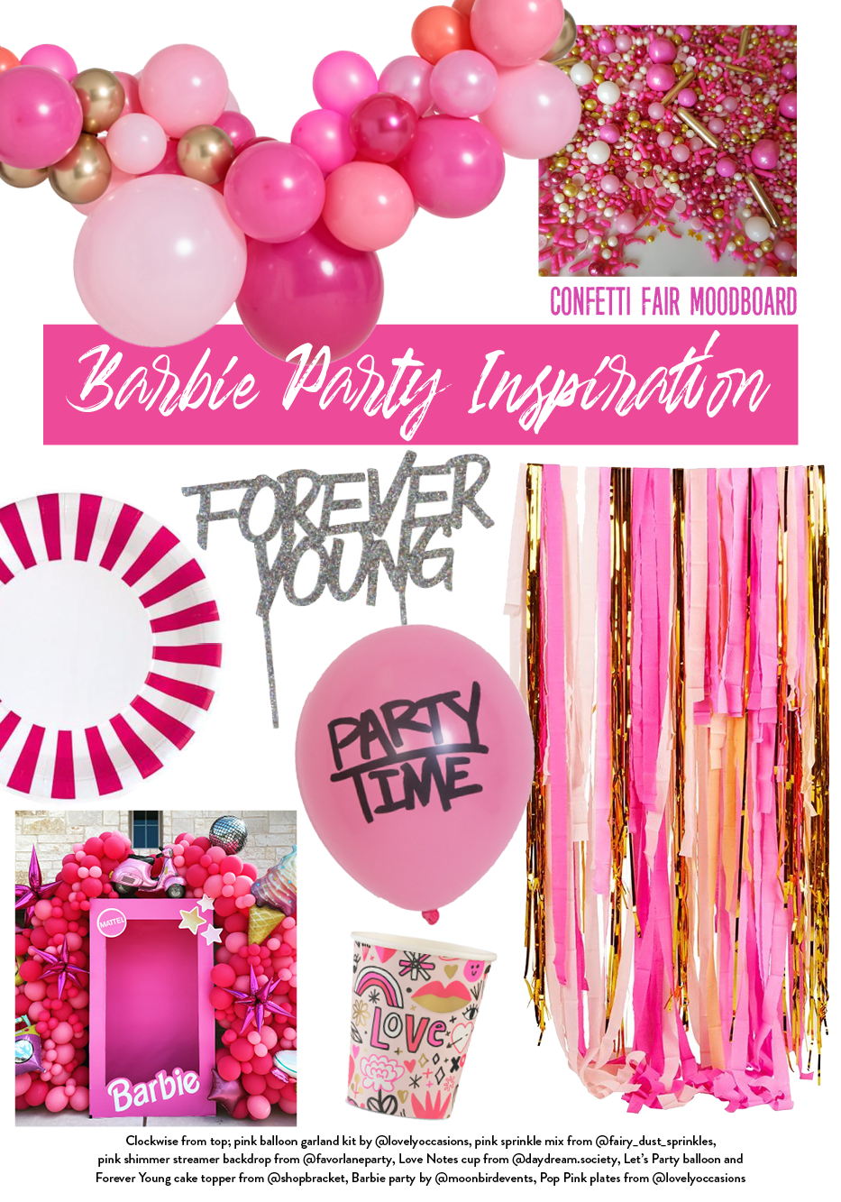 Best Barbie party ideas - products