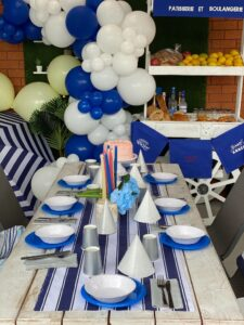 French Riviera themed New Year's Eve, Small French Riviera themed New Year's Eve party