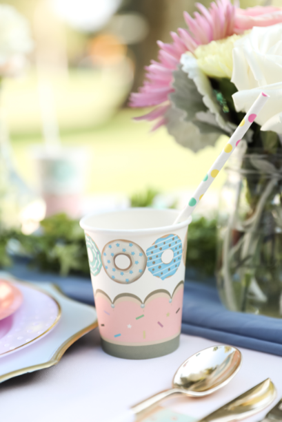 pastel first birthday party, A Sweet One pastel first birthday party