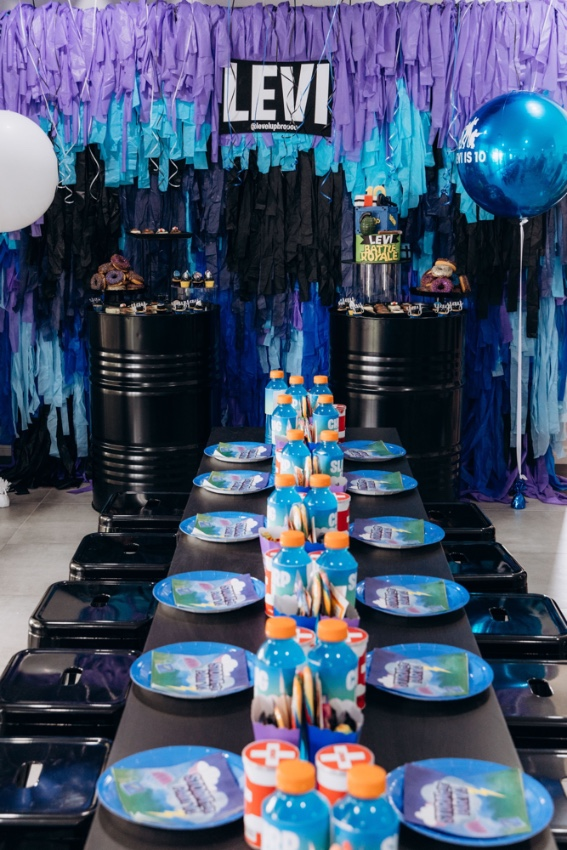 , Levi's 10th Fortnite birthday party