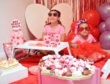 BBF sleepover for Valentine's Day, BBF sleepover for Valentine's Day