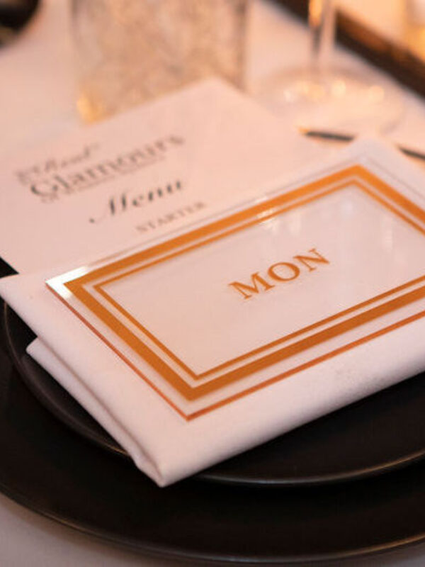 Luxe dinner party presented by the Real Glamours of Western Sydney