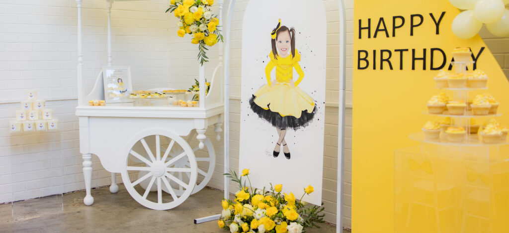 , A bowtiful Emma Wiggle themed birthday party