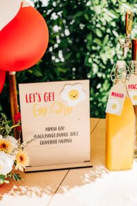 , Sunny side up first birthday party